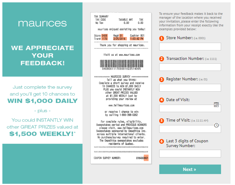 Tell Maurices Survey